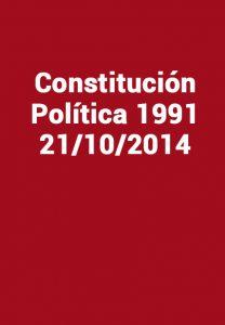 Constitución Política 1991 - 21/10/2014