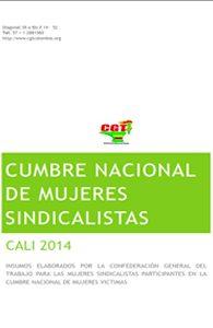 Cumbre Mujeres Sincalistas Cali 2014