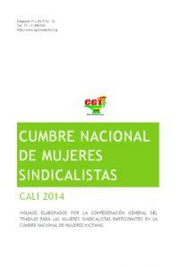 Cumbre nacional de mujeres sindicalistas