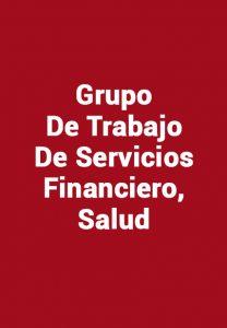Grupo De Trabajo De Servicios Financiero