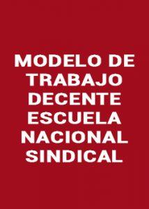 Modelo de Trabajo Decente de la ENS