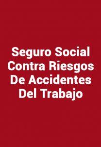 Seguro Social Contra Riesgos De Accidentes Del Trabajo