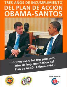 Informe Plan De Acción Laboral Obama Santos 2014 Declaración Y Resumen