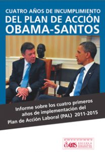 Informe Plan De Acción Laboral Obama Santos 2015