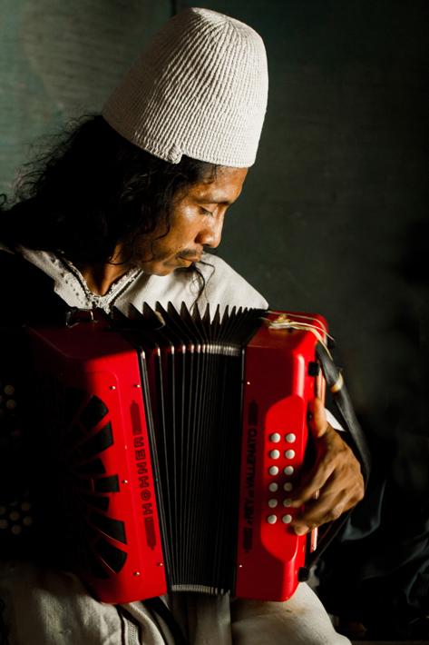 Indígena Músico Arahuaco